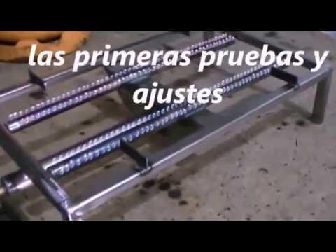 QUEMADOR A GAS PARA PLANCHA