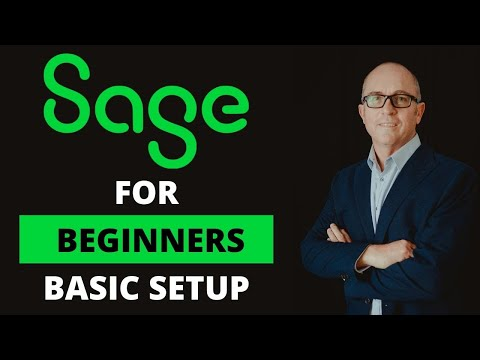 Sage One tutorial - Basic Setup - Quick And Easy (SA 2020)