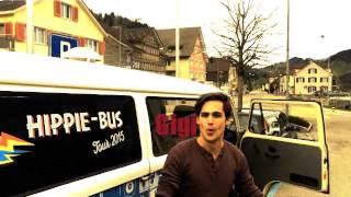 Hippie-Bus VIDEOCLIP-RMX Teil2 (von Gais nach Urnäsch)