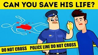 10 CRIME RIDDLES TO SEE IF YOU COULD JOIN THE POLICE FORCE