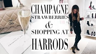 COME SHOPPING IN HARRODS WITH ME | Lydia Elise Millen