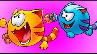МяуСим #4 - ИГРАЕМ в детскую игру про котенка / Мультик игра для детей на канале ПУРУМЧАТА