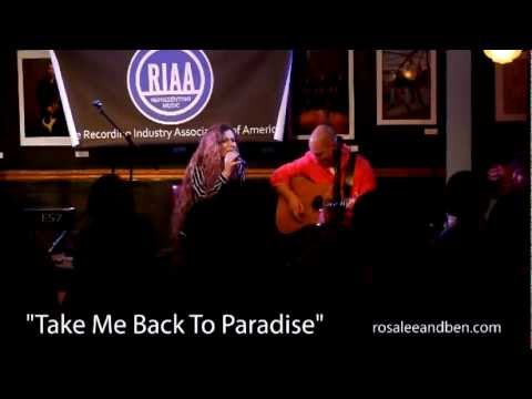 Rose and Ben - Bluebird Cafe - Take Me Back To Paradise