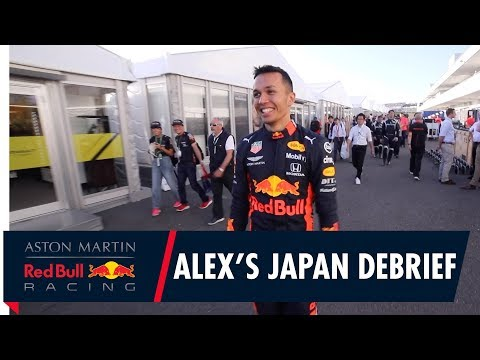 Image: Watch: Alex Albon's Japanese Grand Prix debrief