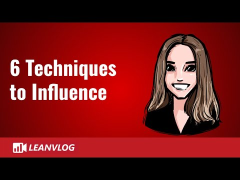 Influencing Skills - 6 Techniques for the Lean Management - YouTube