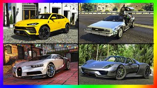 THE TOP 15 FASTEST CARS IN GTA 5 ONLINE!! UPDATED MAY 2020!!!