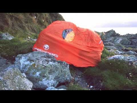Lifesystems Survival Storm Shelter Bothy Bags Instruction Video