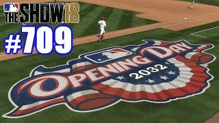 FIRST GAME WITH NEW TEAM! | MLB The Show 18 | Road to the Show #709