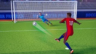 FreeKick Soccer World Champion (by Best mobile sport games) Android Gameplay [HD]