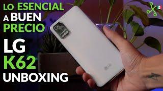 LG K62, unboxing en México: nuevo diseño y más pantalla para la gama media