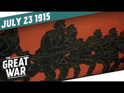 Rusové ustupují – taktika spálené země - Velká válka
