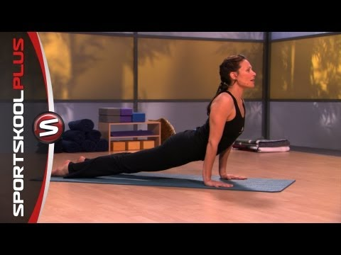 How To Do An Upward Dog Yoga Pose With Nancy Goodstein
