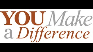 What DIFFERENCE Will YOU Make?? (Video 1)