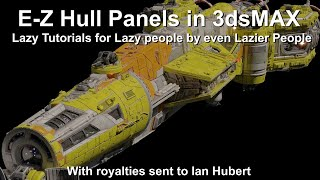 3dsMax E-Z Hull Plates! (Lazy Tutorial for Lazy People by even Lazier People)