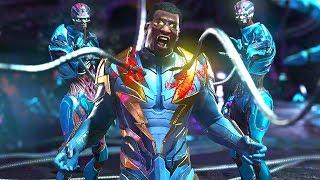 Injustice 2 - All Super Moves on Black Lightning (1080p 60FPS)