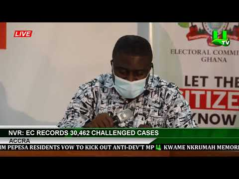 NVR : EC Records 30,462 Challenged Cases