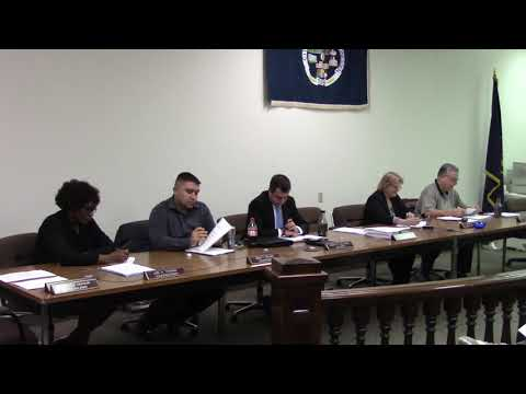 Monessen Council Work Session December 13, 2018