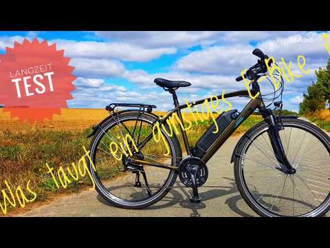 Das E-Bike aus dem Supermarkt. Zündapp Green 4.0 | LANGZEITTEST | Trio | e-novation