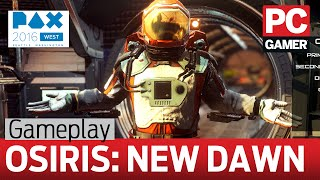 Osiris: New Dawn gameplay - marooned on an arid alien planet