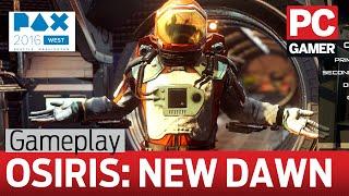 Osiris: New Dawn gameplay - marooned on an arid alien planet