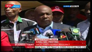 Gideon Moi: KANU has agreed to stand on its own and not dissolve