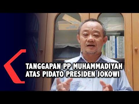 tanggapan pp muhammadiyah terkait pidato presiden jokowi mengenai uu cipta kerja