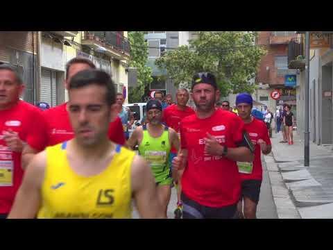 Carrera Correos Express Sant Adrià de Besòs 2018 reportaje