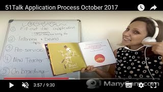 51Talk Application Process October 2017