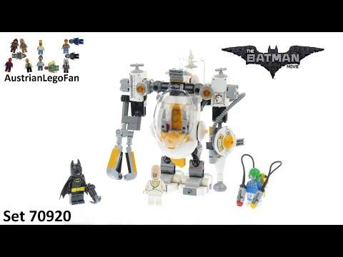 Vidéo LEGO The Batman Movie 70920 : L'attaque de Crâne d'Oeuf