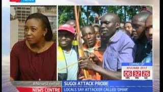 News Centre: Studio interview with security expert George Musamali on the attack on DP Ruto's home