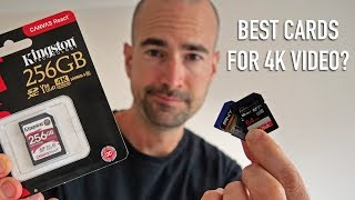 Best Memory Cards For Shooting 4K Video