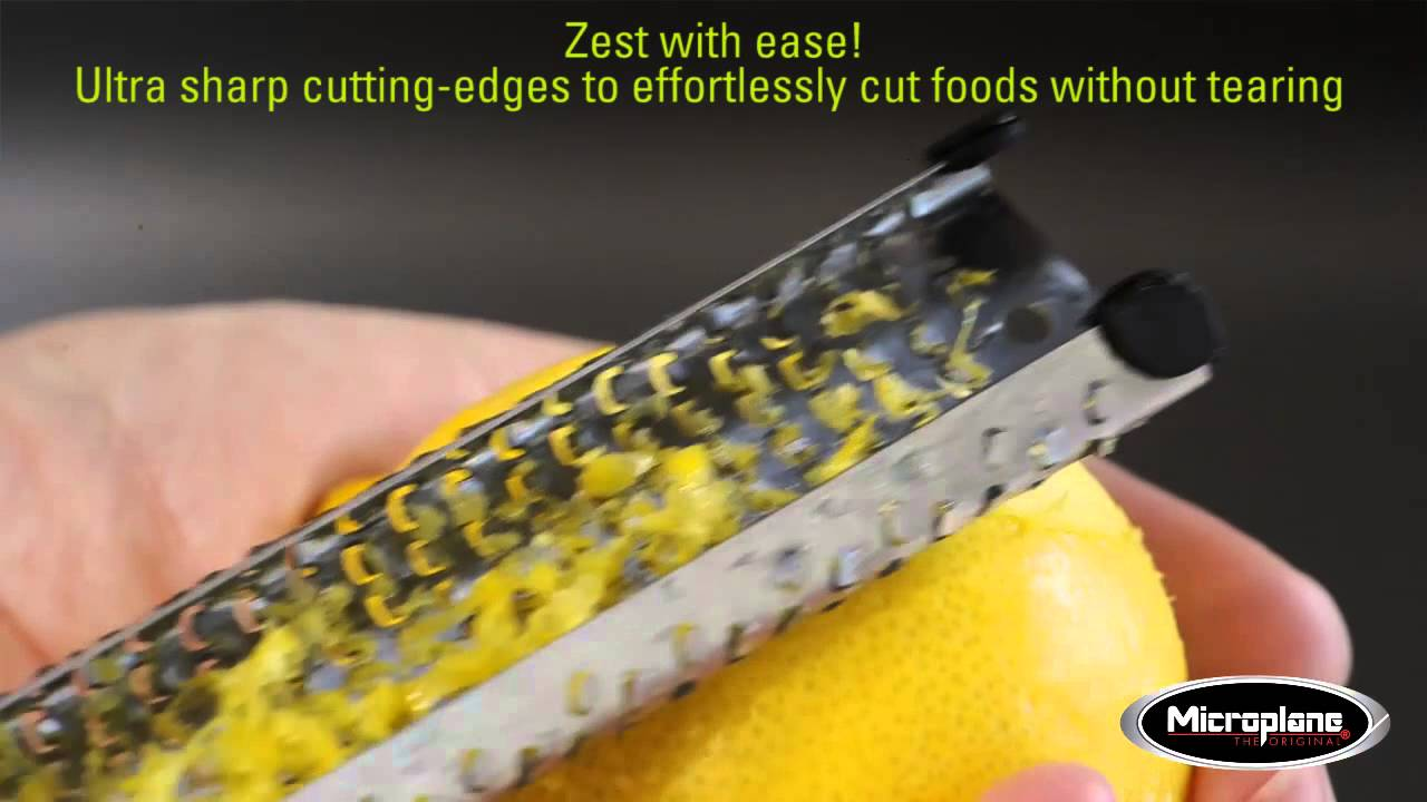 Video - Microplane Rasp Premium Classic Zwart