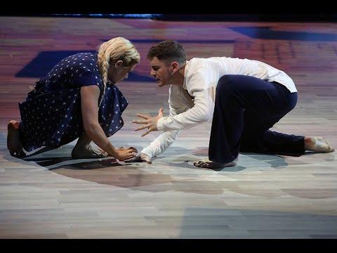 Танцы со звёздами (11.04.2015). Ирина Пегова и Андрей Козловский. Контемпорари видео
