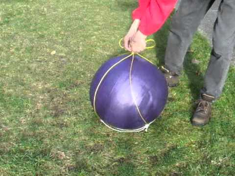 How To Make A Treiball (yoga Ball) Carrier