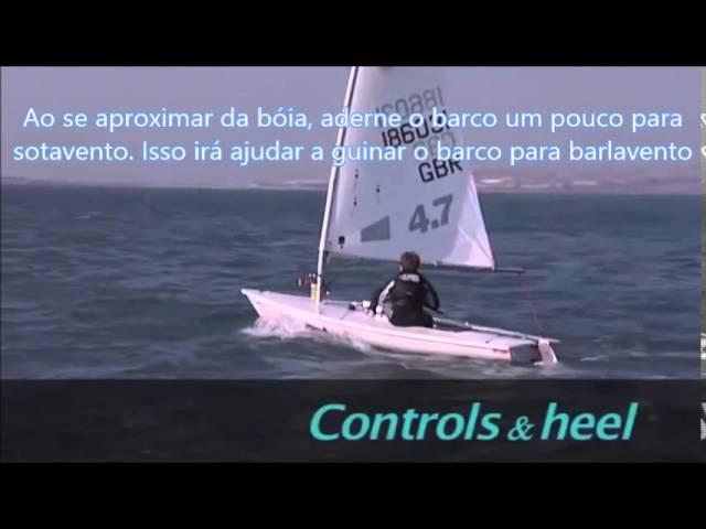 RYA Laser Top Sailing Tips - Montagem da Marca de Sotavento [Legendado, Português]