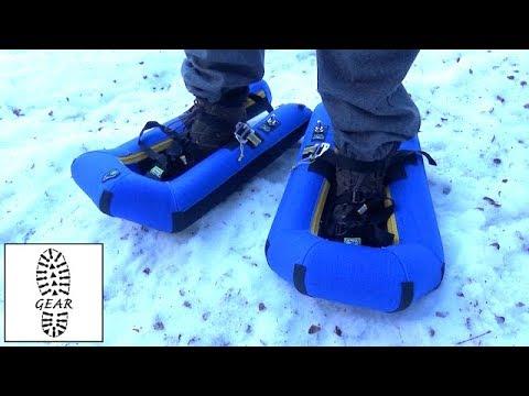 """Aufblasbare Schneeschuhe """"Revolution"""" von Small Foot"""