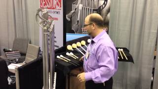 pasic 2013: massimo tornado chime mallets