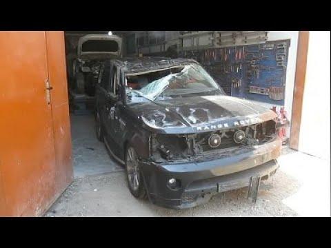 Range Rover Sport AutobiographyКузовной ремонт в Армении/Body repair in Armenia