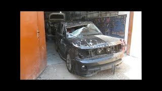 Кузовной ремонт в Армении/Body repair in Armenia Range Rover Sport Autobiography