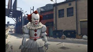 GTA 5 - Bí ẩn về Chú hề ma quái Pennywise (ý tưởng Fan) | GHTG 4K