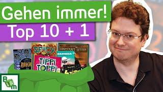 Top 10 Absacker Spiele | beste Brettspiele für Zwischendurch, die jeder mag