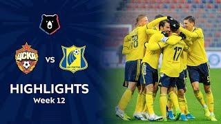 Highlights CSKA vs FC Rostov (1-3)
