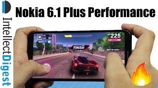 Nokia 6.1 Plus (Nokia X6) Gaming Review