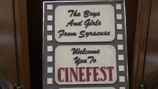 preview picture of video '#562 CINEFEST 34 Film Festival in Syracuse New York! with Leonard Maltin! TNT Amusements'