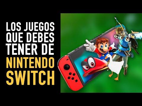 17 juegos de Nintendo Switch que debes tener