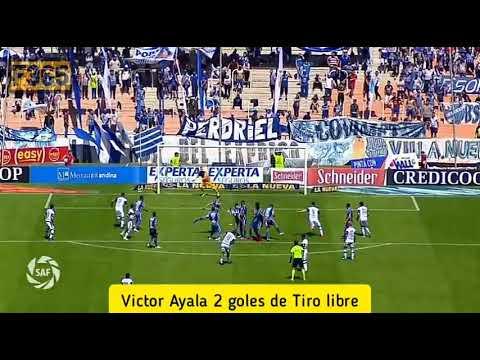 Víctor Ayala contó la fórmula de Maradona para patear los tiros libres