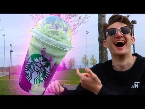 Download Trying The Dragon Frappuccino Starbucks Secret Menu