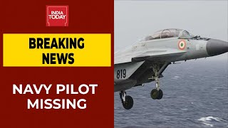 MiG-29K Trainer Aircraft Crashes Into Arabian Sea; 1 Pilot Rescued, Another Missing | BREAKING - Download this Video in MP3, M4A, WEBM, MP4, 3GP