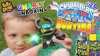 Gnarly Barkley SILLY STRING Unboxing + Skylanders Superchargers @ TOYS R US (Trap Team Hunting # 20)