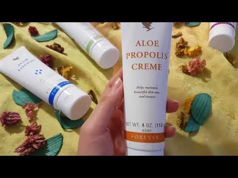 شرح مفصل لخمس منتوجات ألو فيرا فوريفر Aloe Propolis Creme 2